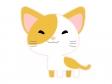 かわいい子猫のイラスト