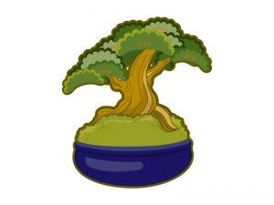 盆栽のイラスト04