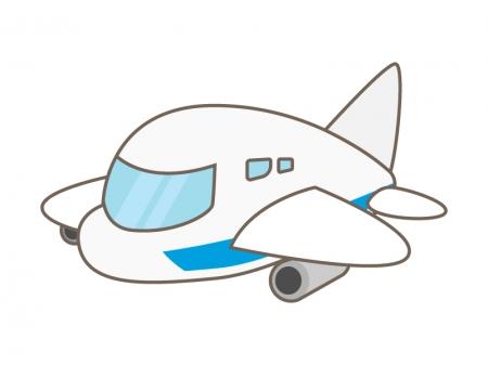 かわいい飛行機のイラスト02