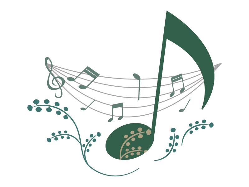 音符・音楽のイラスト