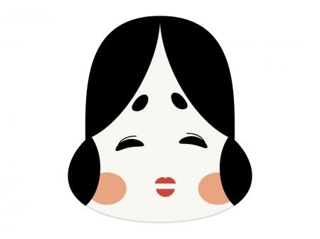 おかめ・お多福のイラスト05