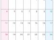 2021年4月(A4)カレンダー・印刷用