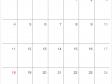 シンプルなデザインの2021年(令和3年)4月のカレンダー