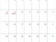 シンプルなデザインの2021年(令和3年)8月のカレンダー