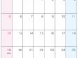 2022年6月(A4)カレンダー・印刷用